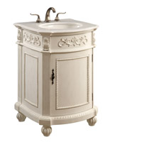 Singature Antique White Vanity Cabinet