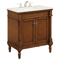 Elegant Lighting VF-1030 Lexington Brown Vanity Set