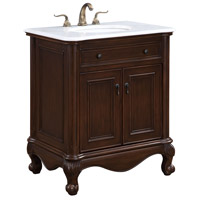 Elegant Lighting VF-1032 Luxe Teak Vanity Set