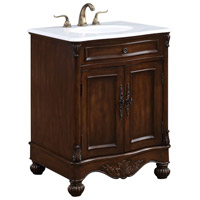Elegant Lighting VF-1033 Windsor Teak Vanity Set