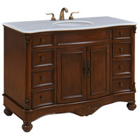 Elegant Lighting VF-1034 Windsor Teak Vanity Set