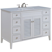 Elegant Lighting VF-1041 Cape Cod White Vanity Set
