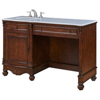 Elegant Lighting VF-1044 Windsor Teak Vanity Set