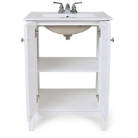 Elegant Lighting VF-2003 Mod 24 X 18 X 34 inch White Bathroom Vanity Cabinet, 24 in. L x 18 in. W x 34 in. H