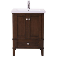 Elegant Lighting VF-2005 Aqua Antique Coffee and Brushed Nickel Vanity Sink Set
