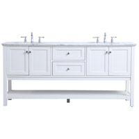 Metropolis White Vanity Sink Set