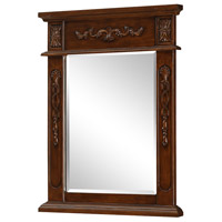 Vanity 28 X 22 inch Brown Wall Mirror