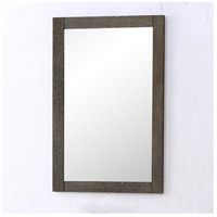 Danville 32 X 22 inch Weathered Oak Wall Mirror Home Decor, Rectangle