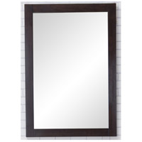 Elegant Lighting VM2005 Aqua 32 X 22 inch Dark Walnut Wall Mirror