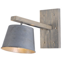 Urban Classic by Elegant Lighting Industrial 1 Light Wall Sconce in Antique WL1231