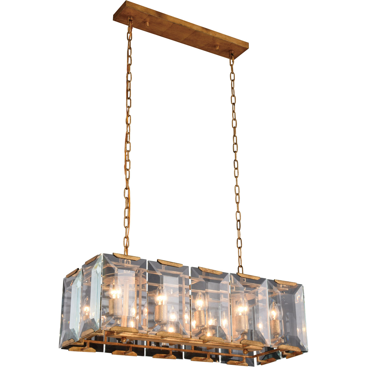 Details about 10 light 34 golden iron chandelier kitchen dining room ceiling lighting fixture