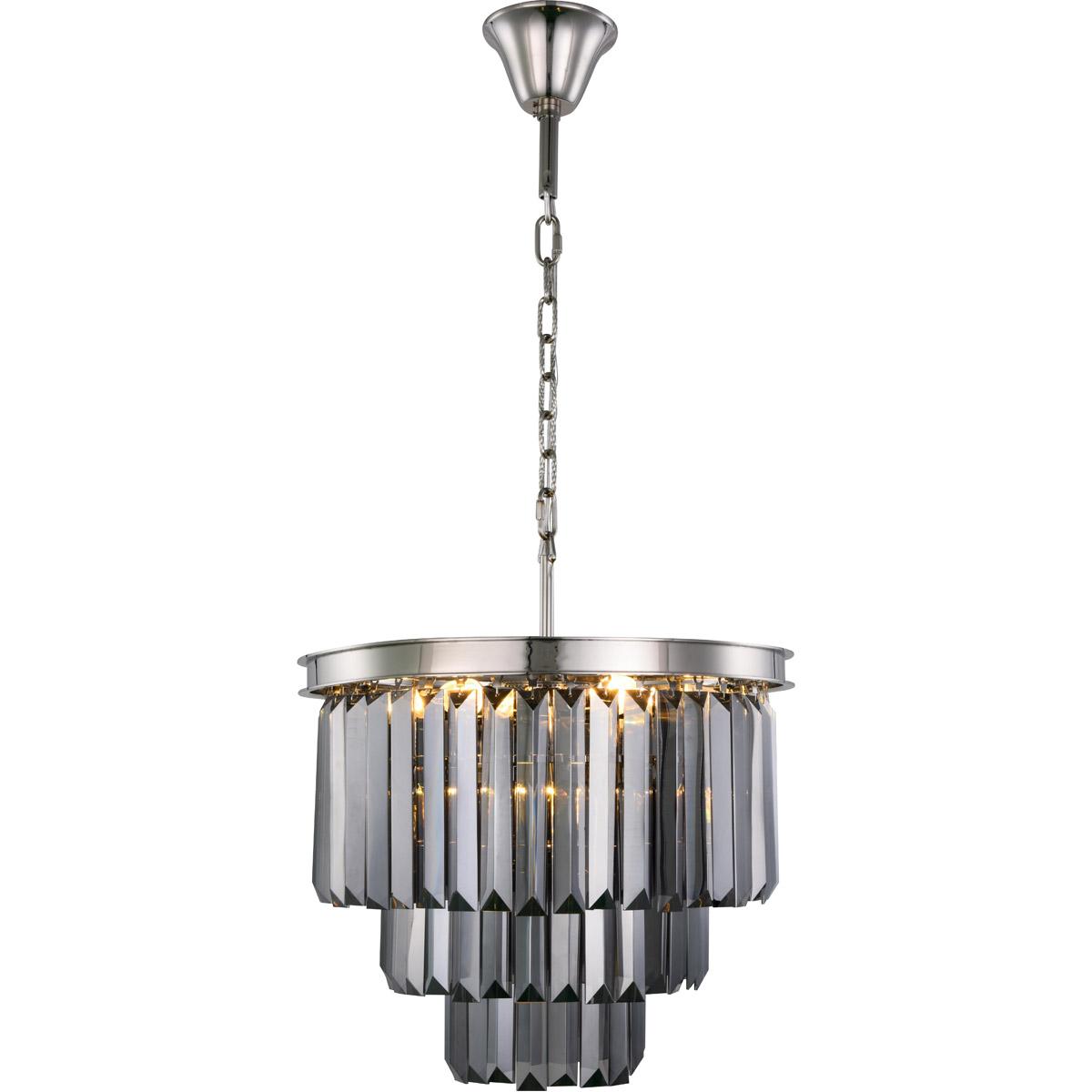 Elegant lighting 1231d20pn ssrc sydney chandeliers polished nickel responsive image aloadofball Choice Image