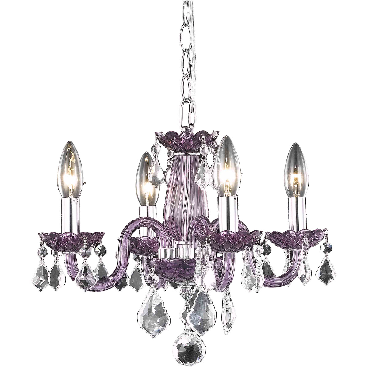 Bathroom lighting fixtures photo 15 Diy Rococo Light 15 Inch Purple Dining Chandelier Ceiling Light In Clear Ebay Light 15