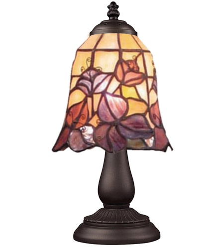ELK Lighting Mix-N-Match 1 Light Table Lamp in Tiffany Bronze 080-TB-17 photo