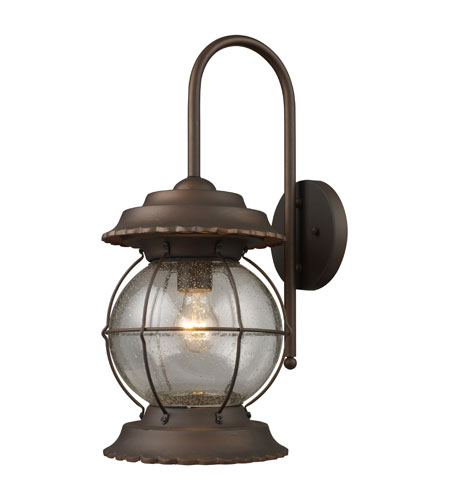 ELK Lighting Manchester 1 Light Outdoor Sconce in Burnt Bronze 08171-BB photo