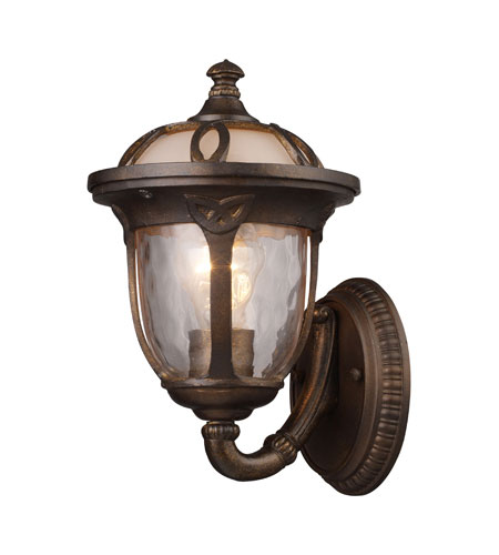 ELK Lighting Windsor 1 Light Outdoor Sconce in Hazelnut Bronze 08181-HB photo