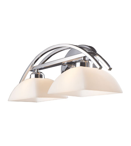 ELK 10031/2 Arches 2 Light 20 inch Polished Chrome Vanity Wall Light photo