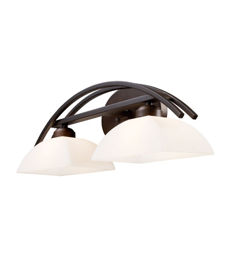 ELK Lighting Arches 2 Light Vanity in Aged Bronze 10041/2