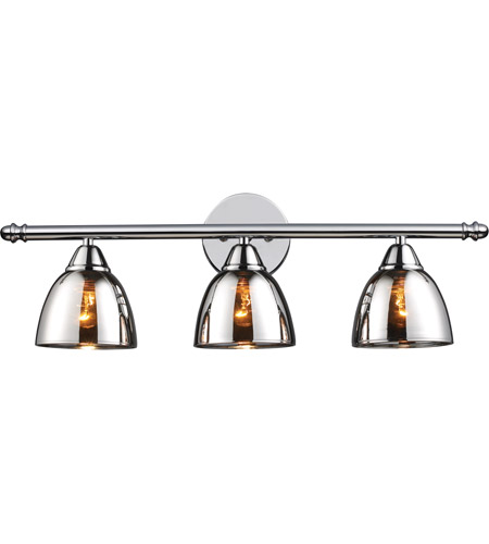 ELK Lighting Reflections 3 Light Vanity in Polished Chrome 10072/3 photo