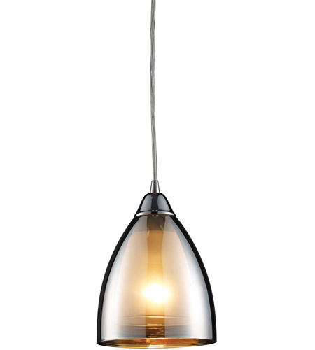 ELK 10073/1 Reflections 1 Light 6 inch Polished Chrome Pendant Ceiling Light photo