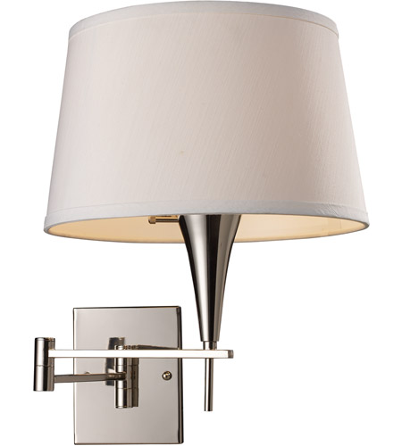 ELK Lighting Swingarm 1 Light Swingarm Sconce in Polished Chrome 10108/1 photo