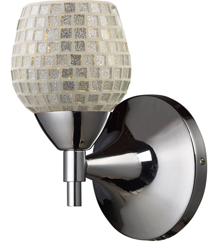 ELK Lighting Celina 1 Light Sconce in Polished Chrome 10150/1PC-SLV photo