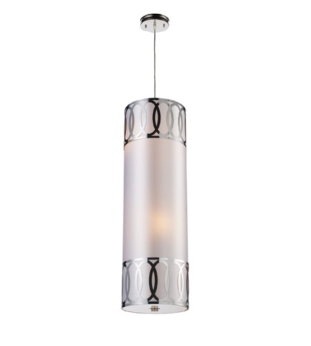 ELK Lighting Anastasia 4 Light Pendant in Polished Nickel 10175/4 photo