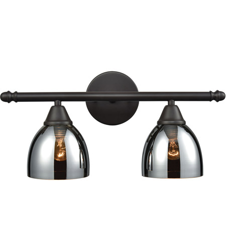 Elk 10271 2 Reflections Light 18 Inch Oil Rubbed Bronze Vanity Wall