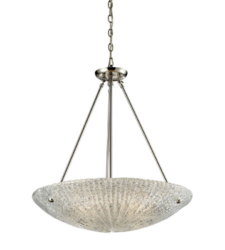 ELK Lighting Luminese 4 Light Pendant in Satin Nickel 10272/4 photo