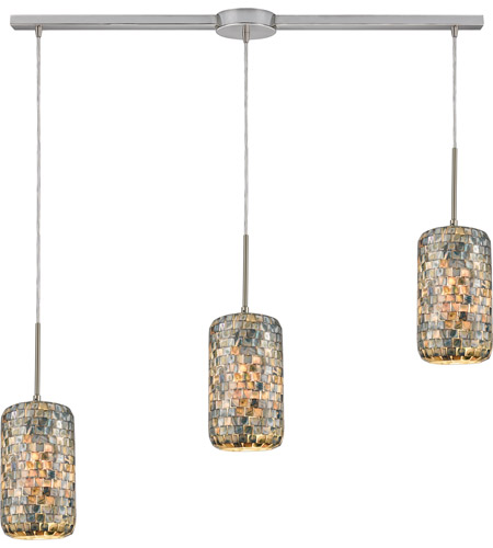 ELK Satin Nickel Capri Island Lights