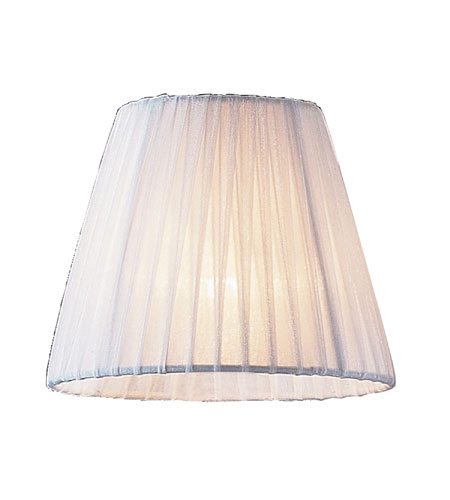 ELK Lighting Renaissance Shade in White Pleated 1058 photo