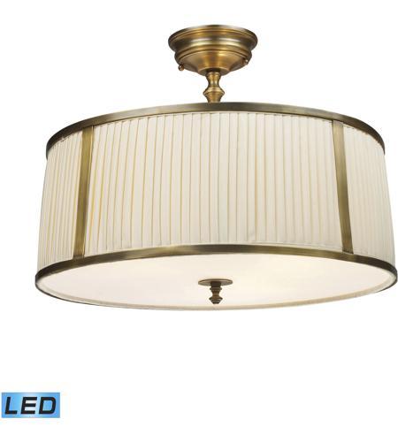 Elk Lighting Garriston: ELK 11055/4-LED Williamsport LED 20 Inch Vintage Brass