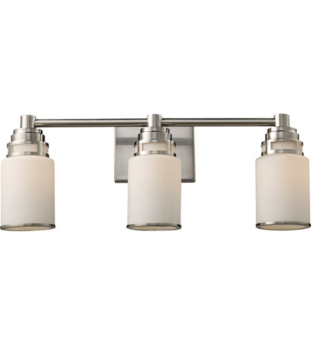 ELK Lighting Bryant 3 Light Vanity in Satin Nickel 11266/3 photo