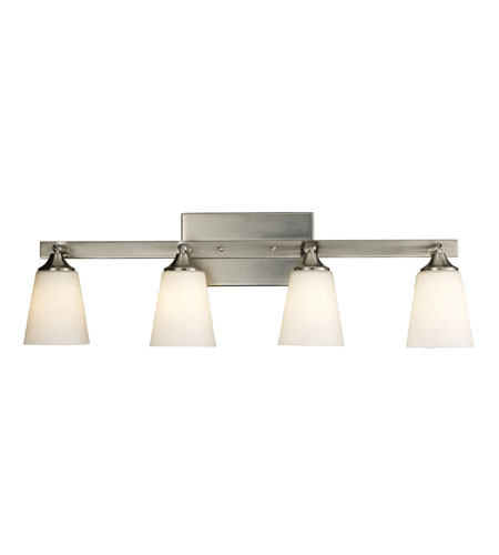 ELK Lighting Vilente 4 Light Vanity in Satin Nickel & Matte Nickel 11277/4 photo