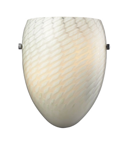 ELK 11316/1WS-G Night Glow 1 Light 8 inch Polished Chrome Sconce Wall Light photo
