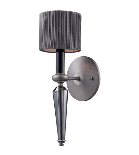 ELK 11320/1 Beaumont 1 Light 5 inch Graphite Wall Sconce Wall Light photo