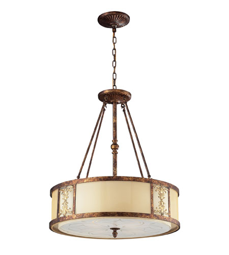 ELK 11342/4 Frederick 4 Light 23 inch Spanish Bronze Pendant Ceiling Light photo