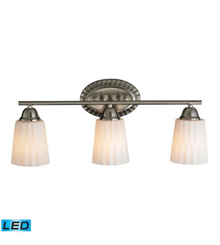 Elk 11407 3 Led Waverly Led 23 Inch Brushed Nickel Bath Bar Wall Light