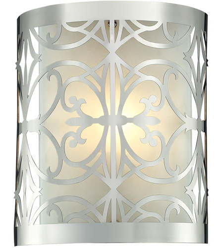 ELK 11430/1 Willow Bend 1 Light 8 inch Polished Chrome Bath Bar Wall Light photo