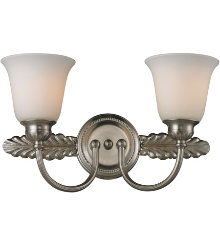 ELK Lighting Ventura 2 Light Bath Bar in Brushed Nickel 11434/2 photo