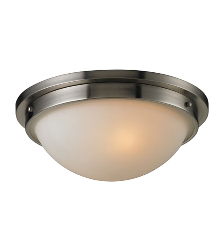 ELK Lighting Signature 2 Light Flush Mount in Brushed Nickel 11440/2 photo