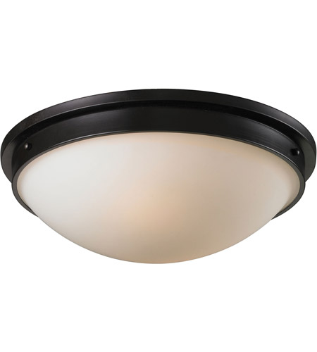 ELK Lighting Signature 2 Light Flush Mount in Oiled Bronze 11451/2 photo