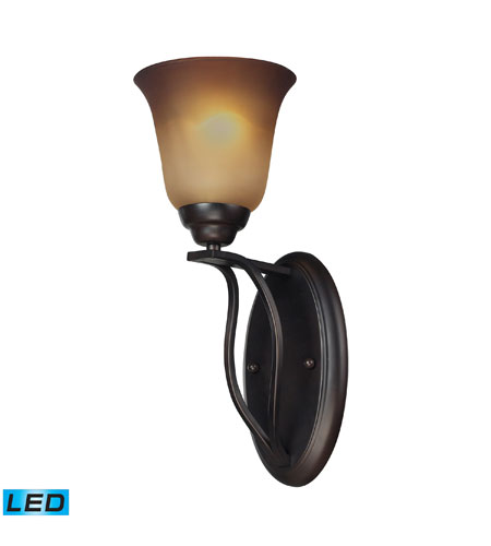 ELK Lighting Malaga 1 Light Wall Sconce in Aged Bronze 11530/1-LED photo