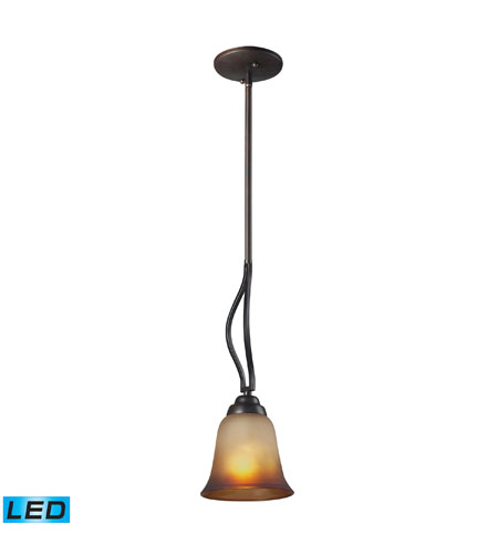 ELK Lighting Malaga 1 Light Pendant in Aged Bronze 11531/1-LED photo