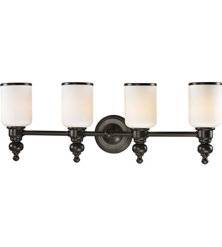 ELK 11593/4 Bristol Way 4 Light 29 inch Oil Rubbed Bronze Vanity Light Wall Light in Incandescent photo