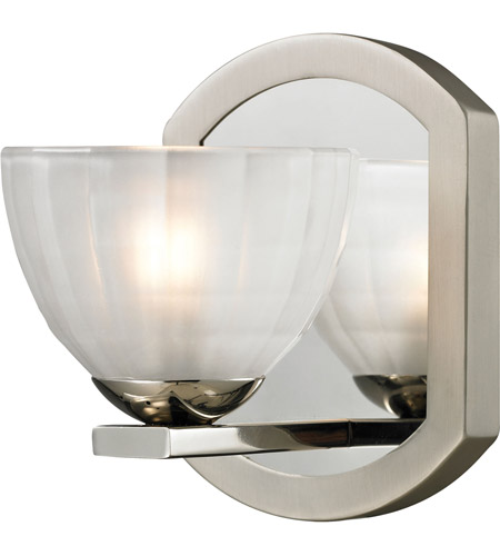 ELK Polished Nickel Bathroom Vanity Lights