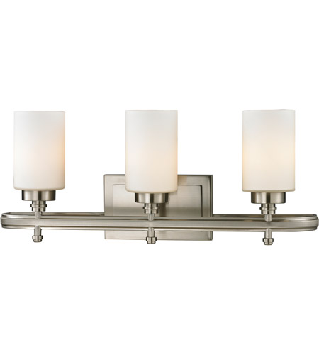 ELK 11662/3 Dawson 3 Light 23 inch Brushed Nickel Vanity Light Wall Light in Incandescent photo