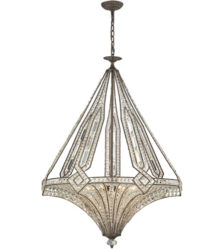 ELK 11784/7 Jausten 7 Light 30 inch Antique Bronze Chandelier Ceiling Light photo