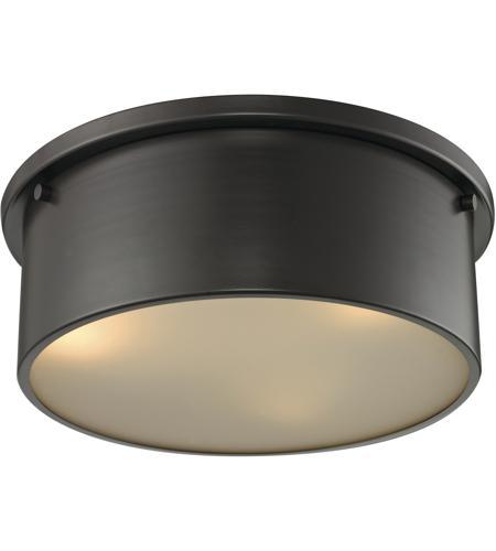 Elk 118113 simpson 3 light 14 inch oil rubbed bronze flushmount elk 118113 simpson 3 light 14 inch oil rubbed bronze flushmount ceiling light aloadofball Gallery