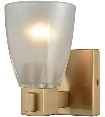 ELK 11990/1 Ensley 1 Light 7 inch Satin Brass Vanity Light Wall Light photo